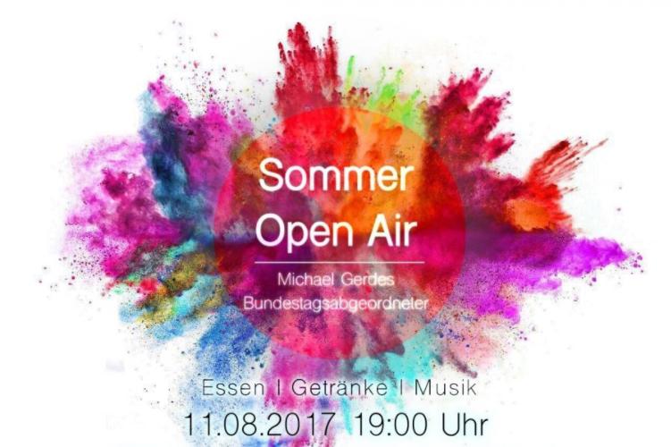 Sommerfest der Jusos Gladbeck › Michael Gerdes MdB